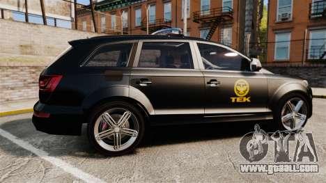 Audi Q7 TEK [ELS] for GTA 4 left view