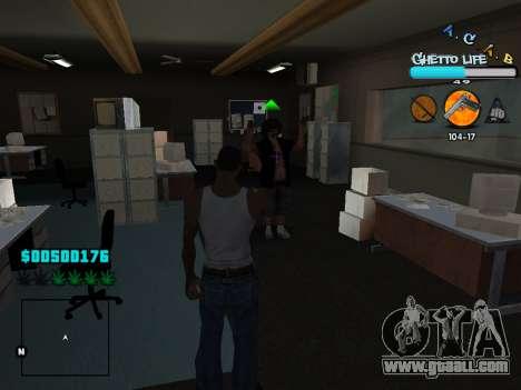 C-HUD new A.C.A.B for GTA San Andreas seventh screenshot