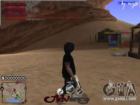 C-HUD Advance for GTA San Andreas