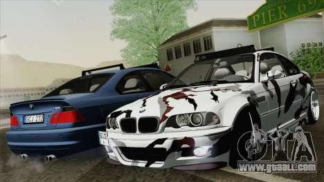 BMW M3 E46 Camo for GTA San Andreas