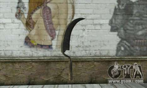 Old rusty hammer for GTA San Andreas second screenshot