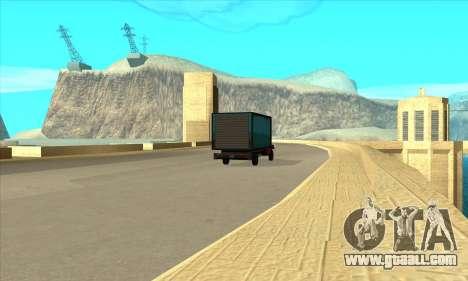 New dam Sherman for GTA San Andreas third screenshot