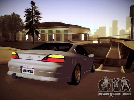 Nissan Silvia S15 Stanced for GTA San Andreas right view
