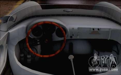 Porsche 550 Spyder 1955 for GTA San Andreas right view
