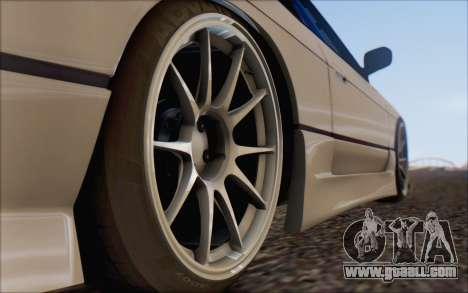 Nissan Silvia S13 Vertex for GTA San Andreas right view