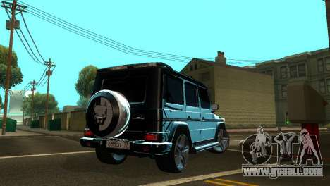 Mercedes-Benz G500 AMG V.2 for GTA San Andreas back view