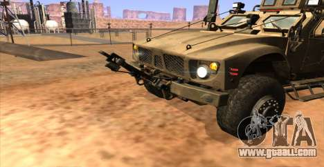 M-ATV из Call of Duty: Ghosts for GTA San Andreas back left view