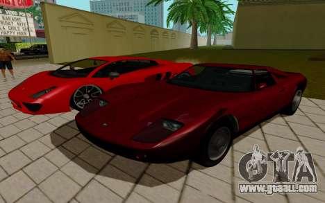 GTA 5 Pegassi Vacca for GTA San Andreas back view
