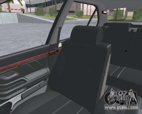 BMW 7-series E38 for GTA San Andreas back view