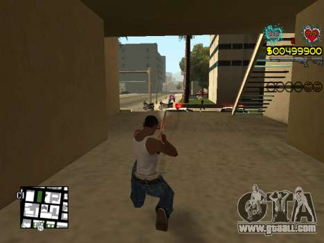 C-HUD Guns for GTA San Andreas ninth screenshot