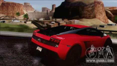 Lamborghini Gallardo LP570-4 Edizione Tecnica for GTA San Andreas right view