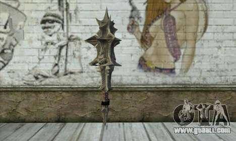 Daedric Sword for GTA San Andreas