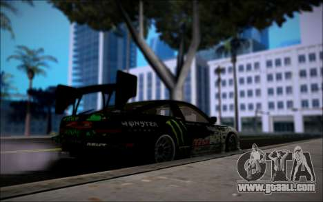 Nissan 240SX Monster Energy for GTA San Andreas back left view