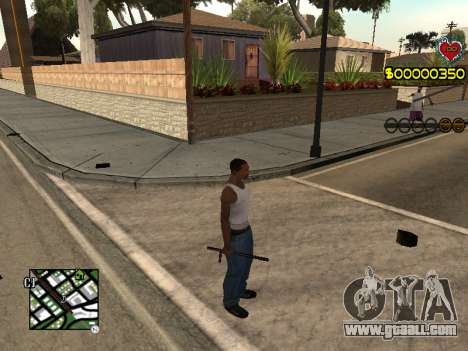 C-HUD Guns for GTA San Andreas second screenshot
