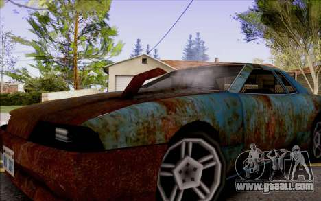 Elegy by Swizzy for GTA San Andreas right view