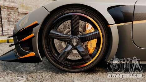 Koenigsegg One:1 [EPM] for GTA 4 back view