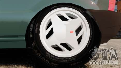 Fiat Uno for GTA 4 back view