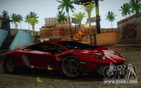 Lamborghini Aventador LP720-4 2013 for GTA San Andreas