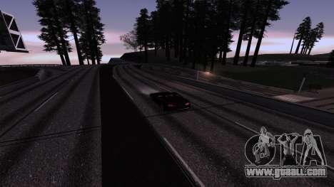 New Roads v3.0 Final for GTA San Andreas second screenshot
