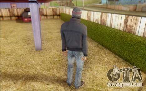 Russian Thug for GTA San Andreas third screenshot