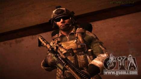 Ranger из Call Of Duty: Ghosts for GTA San Andreas forth screenshot