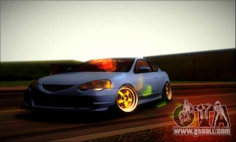 Acura RSX Stance for GTA San Andreas right view