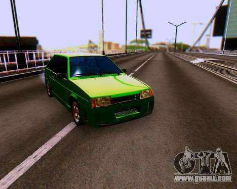 VAZ 2108 Tuneable for GTA San Andreas side view