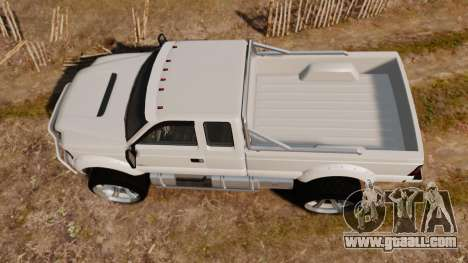GTA V Vapid Sandking XL wheels v1 for GTA 4 right view