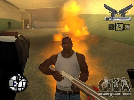 С-HUD by MoLoT for GTA San Andreas forth screenshot