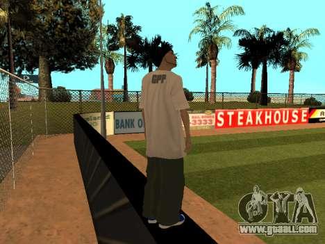 Skin Tracer GPF Team for GTA San Andreas third screenshot