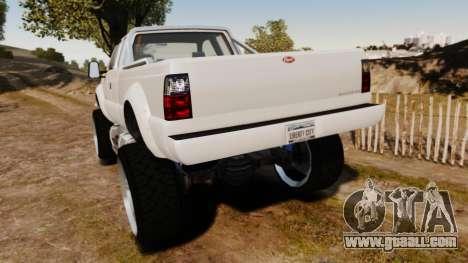 GTA V Vapid Sandking XL wheels v1 for GTA 4 back left view