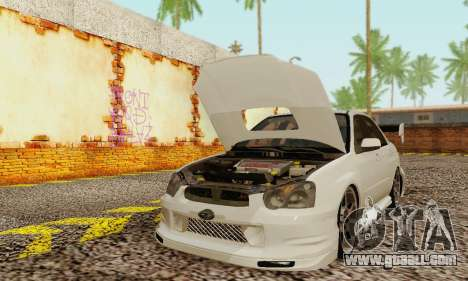 Subaru Impreza WRX Stock for GTA San Andreas left view