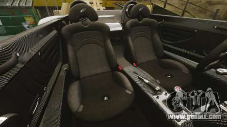 Pagani Zonda C12 S Roadster 2001 PJ3 for GTA 4 side view