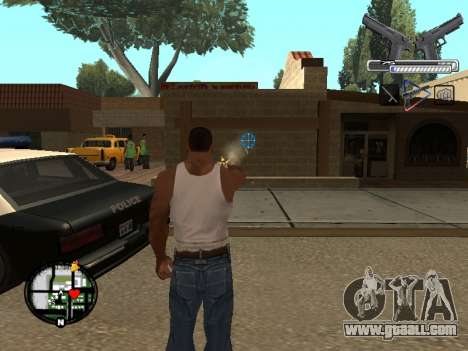 С-HUD by MoLoT for GTA San Andreas second screenshot