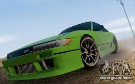 Nissan Silvia S13 Vertex for GTA San Andreas inner view