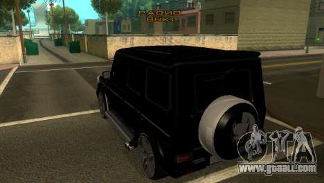Mercedes-Benz G500 AMG V.2 for GTA San Andreas right view
