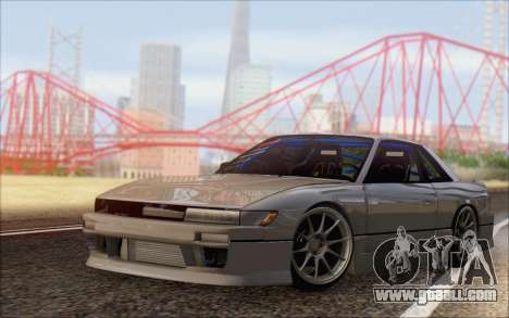 Nissan Silvia S13 Vertex for GTA San Andreas back left view