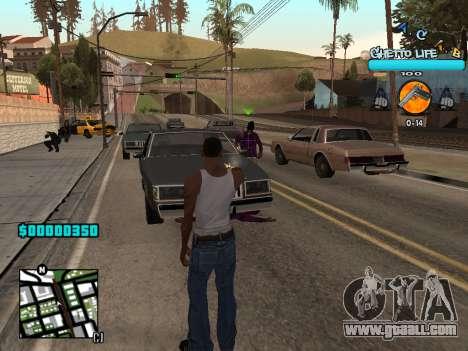 C-HUD new A.C.A.B for GTA San Andreas third screenshot