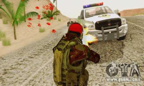 Blood On Screen for GTA San Andreas seventh screenshot