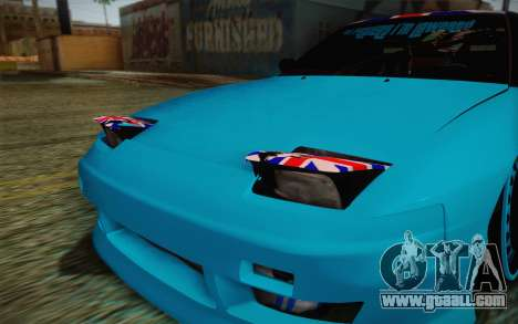 Nissan 240SX Drift Stance for GTA San Andreas side view