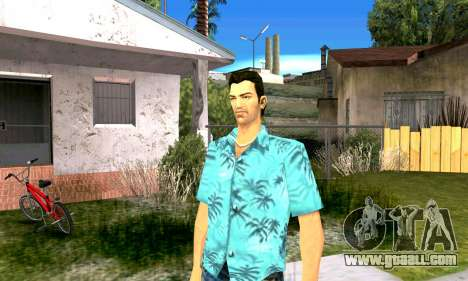 The sound of GTA SA after completing the mission for GTA Vice City