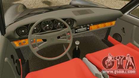 Porsche 911 Targa 1974 [Updated] for GTA 4 inner view