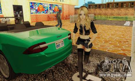 Babydoll Skin for GTA San Andreas second screenshot