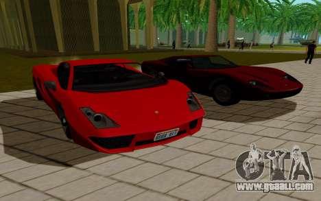 GTA 5 Pegassi Vacca for GTA San Andreas left view