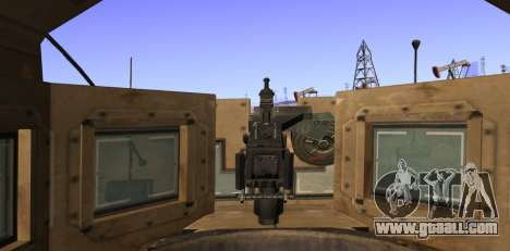 M-ATV из Call of Duty: Ghosts for GTA San Andreas side view