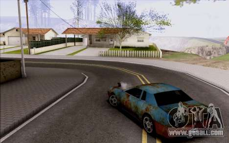 Elegy by Swizzy for GTA San Andreas back view