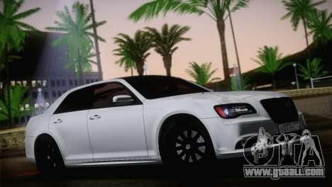 Chrysler 300 SRT8 Black Vapor Edition for GTA San Andreas