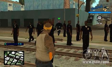 C-HUD SWAG for GTA San Andreas third screenshot