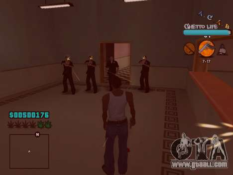 C-HUD new A.C.A.B for GTA San Andreas sixth screenshot