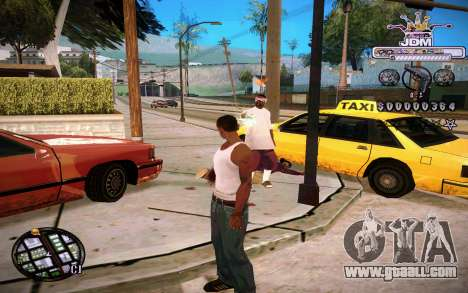 C-HUD JDM for GTA San Andreas second screenshot